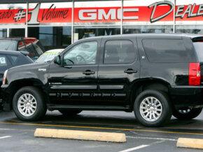 A GMC Yukon Hybrid