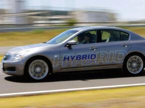 A Nissan Altima Hybrid