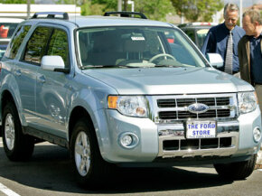 A Ford Escape Hybrid