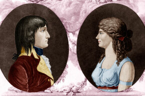 Napoleon was deeply in love with Josephine when they first married.