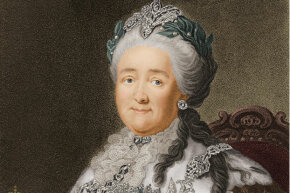 Catherine the Great was never the same after Potemkin died.