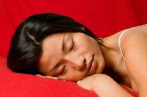 Deep sleep helps to ward off a cold.