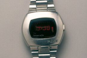 LED watches were popular for a time, but were eclipsed by the LCD (light crystal display) watches, also introduced in 1972.