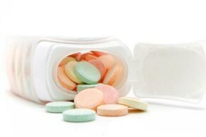 If you're experiencing excessive saliva, try chewing antacid.