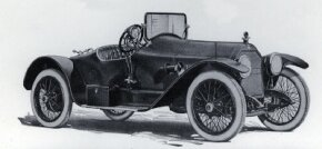Like the Mercer Raceabout, the Stutz Bearcat was a pure, early American sports car. The body was deliberately kept as light as possible so that performance would be maximized, as this 1918 model suggests. Note the step-over plate to the interior. See more classic car pictures.