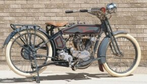The 11-horsepower output of the 1915 Harley-Davidson 11F was guaranteed in writing by the company. See more motorcycle pictures.