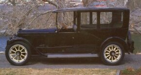 The 1920 Twin Six limo was a somber looking machine because it had no brass trim, and only a bit of shiny hardware. See more classic car pictures.
