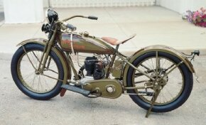 The BA was one of several single-cylinder models that had disappeared by the mid-1930s.