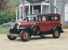 The 1930 Pontiac 6-30-8 fit perfectly into the General Motors lineup.