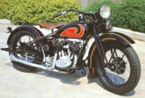 The 1931 Harley-Davidson Model D was one of the first Harley's to offer a flathead V-twin engine.