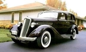 The 1935 Graham Blue Streak Model 73 Special Six Touring Sedan sold for a modest $845.