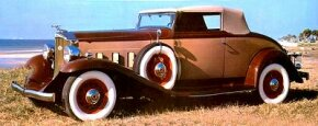 The 1932 Light Eight was the first medium-priced Packard, or 'junior edition.' See more classic car pictures.