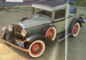 The 1932 Plymouth PA Rumble-Seat coupe was the Plymouth to feature a front grille. See more pictures of Plymouths.