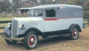 Stewart was known for building its own quality truck bodies, but this 1936 Stewart one-ton panel truck wears a body built by an outside supplier. See more classic truck pictures.