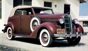 The 1936 D2 maintained the 116-inch wheelbase from the previous year. See more classic car pictures.