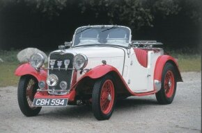 The 1936 Singer Le Mans could travel at                              speeds up to 90 mph. See more pictures of classic cars.