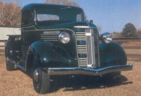 GMC pickups of the late 1930s, like this 1937 GMC half-ton, typically included more upscale trim and equipment than their Chevrolet counterparts. See more classic truck pictures.
