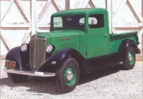 The 1937 C-1 Pickup helped International rebound from the Great Depression. See more classic car pictures.
