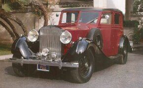 The Rolls-Royce Phantom III touring limousine was described as innovative and mechanically lavish. See more classic car pictures.