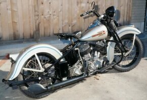 "Despite growing use of Haryle's ""Knucklehead"" engines, the 1938 Harley-Davidson UL used a flathead Big Twin."