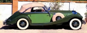 The 1938 Mercedes-Benz 540K cabriolet A was part of a magnificent series built from 1933 to 1939. See more classic car pictures.
