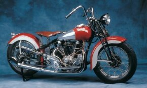 With only 61 Crocker V-twin motorcycles built, these classic bikes are rare indeed. See more motorcycle pictures.