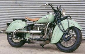 Only about 10,000 Indian 440s were built over the model's 15-year production run. See more motorcycle pictures.