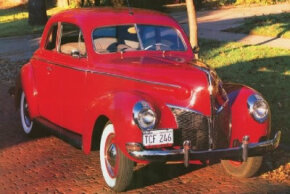 The 1940 Mercury Club Coupe was the brainchild of Edsel Ford, who had a reputation for good taste. See more classic car pictures.