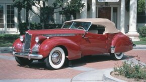 Howard Darrin's Victoria, after receiving Packard's blessing, was built on a 1940 One Eighty chassis. See more pictures of Packard cars.