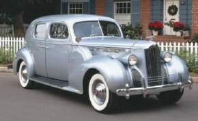 The 1940 Packard One Twenty club sedan had a look and updated amenities. See more pictures of classic cars.