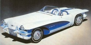 GM design chief Harley Earl spearheaded the 1955 Cadillac LaSalle II series concept cars for that year's GM Motorama traveling auto show.
