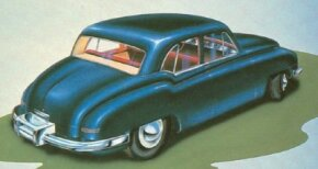 Brooks Stevens' Kaiser-Frazer Henry J concept car was a slightly dated but highly functional small sedan. The production Henry J was even uglier.