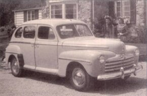 By 1948, Fords, including the Super DeLuxe Fordor, were beginning to look pretty dated.