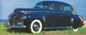 Dodge built only 72,067 Custom 4-door sedans in the Town line. See more classic car pictures.