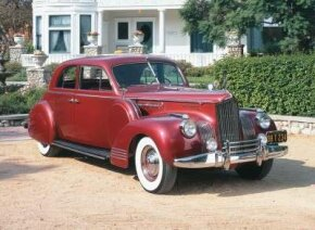 The 1941 Packard One Eighty was available through special pictures of classic cars.
