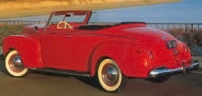 The 1941 Plymouth Special Deluxe convertible was designed to compete with Chevy and Ford's models. See more classic car pictures.