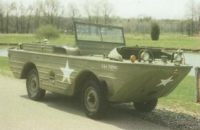The GP-A (General Purpose-Amphibious) was nicknamed the Seep Jeep.