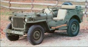 This 1944 Ford GPW Military Jeep is one of 300,000 Ford built for World War II. See more pictures of Fords.
