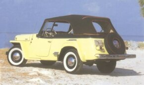 The 1948 Jeepster attempted to add some sportiness to the Jeep lineup.