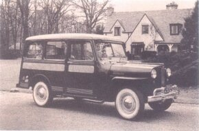 The 1946 Jeep Panel Delivery was designed by Brooks Stevens.