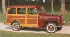 In 1948 several changes were made to the Jeep Station Wagon. The biggest was the addition of four-wheel drive.