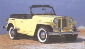 Another one of the styist Brooks Stevens's creations was teh Jeepster, which was released on April 3, 1948.