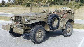 The direct ancestors of the peacetime Dodge Power Wagon were 3/4-ton T214-series four-wheel-drives like this World War II radio command car.See more classic truck pictures.