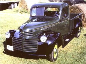 The 1946 CC-152 Pickup was one of GMC's revived models after World War II. See more classic truck pictures.