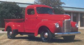What the rugged 1948 International KB-2 pickup truck may have lacked in postwar visual appeal, it made up for in durability. See more classic car pictures.