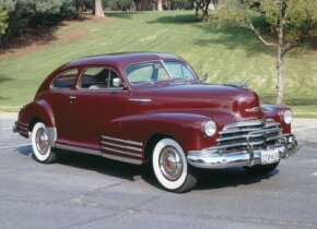The 1947 Chevrolet Fleetline Aerosedan was an extremely popular model. See more pictures of classic cars.