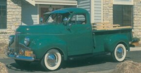 Studebaker returned to true-truck production in 1941 with a clever design that survived after the war in the form of the 1947 Studebaker M-5 Coupe Express pictured here. See more classic truck pictures.