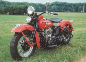 The 1948 Harley-Davidson FL was just one of many new Harley designs after World War II. See more motorcycle pictures.