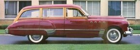 New for the 1949 Roadmaster were the sweepspear side chrome moldings and VentiPorts -- would-be Buick hallmarks. See more classic car pictures.
