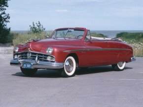 1949 Lincoln Convertible Coupe was the first in the line of smaller Fords. See more pictures of Lincoln cars.